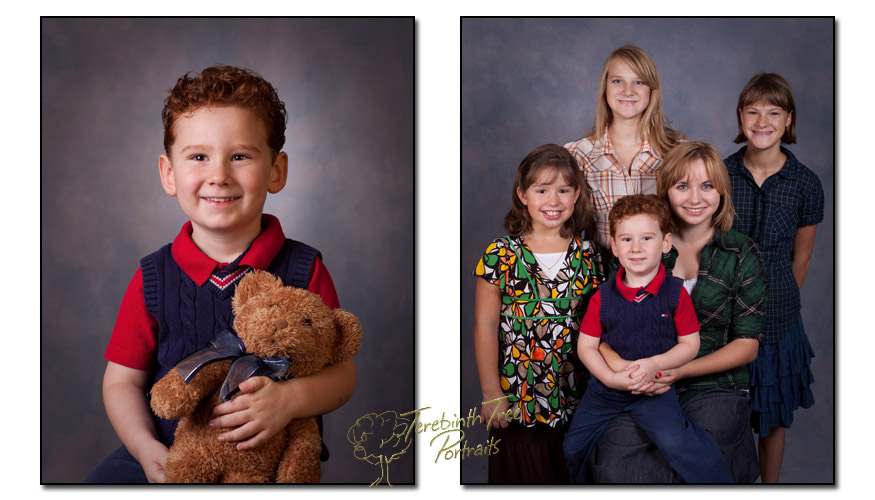 School portraits for MorningStar and Hands of Grace taken in Temecula