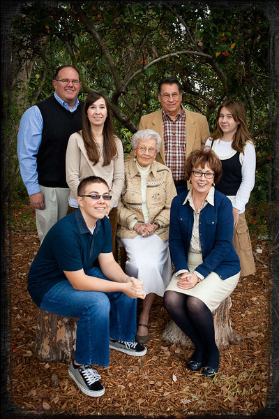 Bell family with four generations